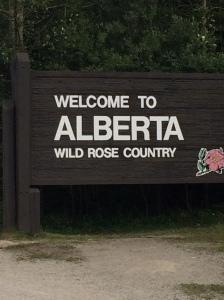 Alberta sign
