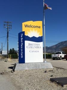 BC sign