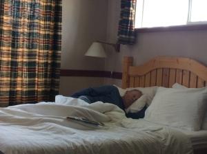 Hank sleep