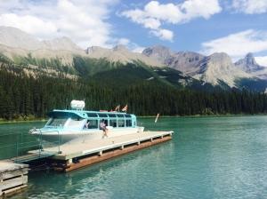 Maligne Boat