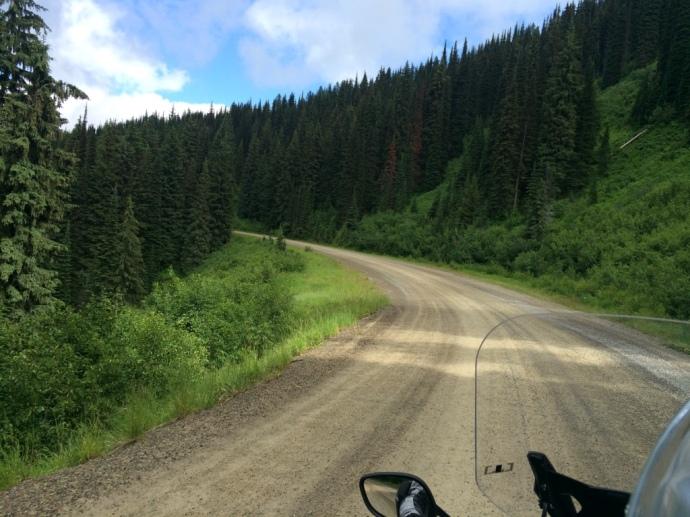 Hwy 97 dirt road